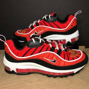 Nike Air Max 98 GS Habanero Red BV4872-601 Size 5Y